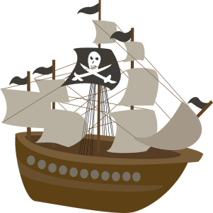 Morskie gadki małej Piratki